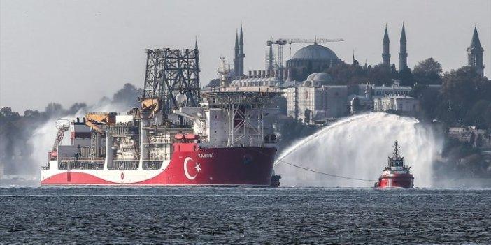 Bakan Dönmez duyurdu. Üçüncü sondaj gemisi Kanuni Karadeniz'e uğurlandı