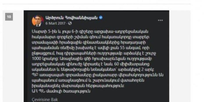 Hey gidi günler hey Abdi İpekçi'nin kemikleri sızlıyor, Ermenistan'ı karıştıran istifa haberinde Milliyet 3 yıl önceki paylaşımı kaynak gösterdi