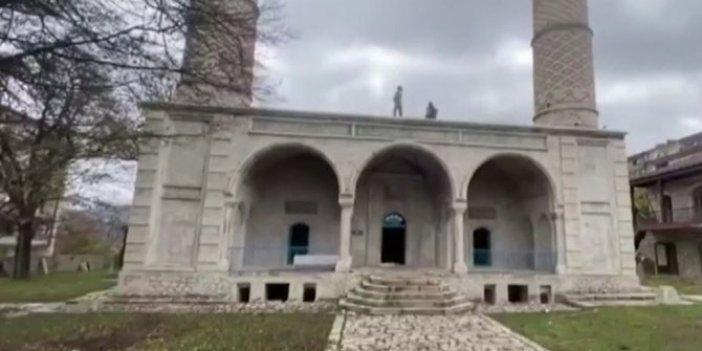Azerbaycan'ın işgalden kurtardığı Şuşa'da 28 yıl sonra bir ilk yaşandı
