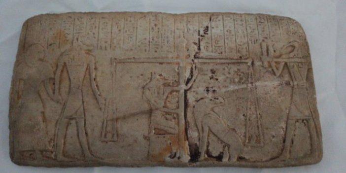 Eski Mısır dönemine ait değeri tam 1 milyon lira. Diyarbakır'da bulundu