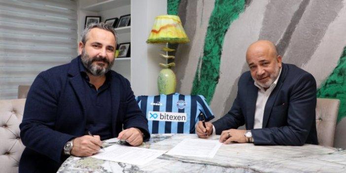 Adana Demirspor'un yeni sponsoru belli oldu