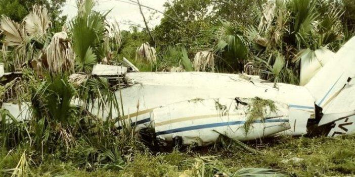 İniş yapmayan jetİ havada vuruldu. Uçağın içinden çıkanlar şok etti