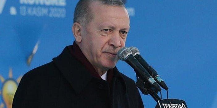 Erdoğan, Tekirdağ İl Kongresi'nde konuştu