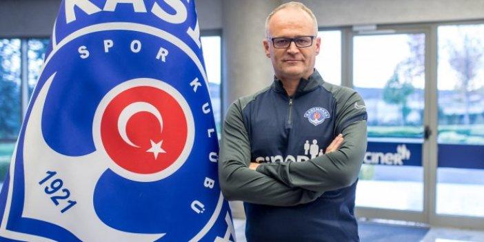 Süper Lig ekibinin yeni teknik direktörü resmen belli oldu