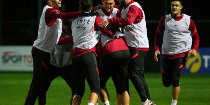A Milli Takım'da Rusya maçının hazırlıkları sürüyor
