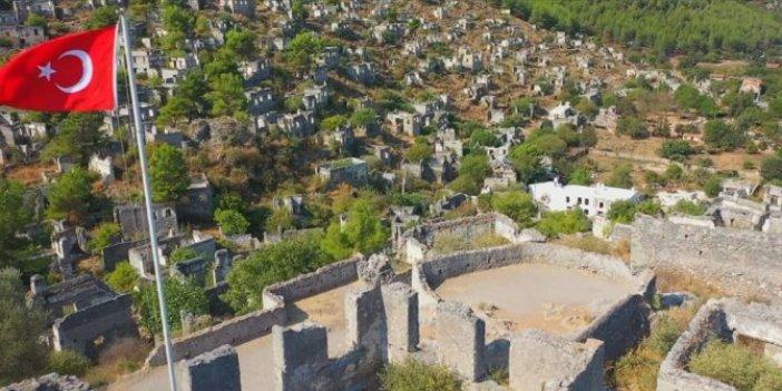 Türkiye'nin hayalet köyü yeniden gündemde. Artık kimse yaşamıyor