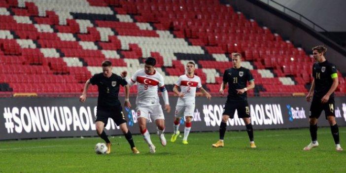 Ümit Milli takım Avusturya'yı 3-2 yendi
