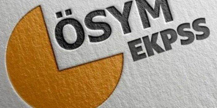 ÖSYM'den EKPSS adaylarına saat uyarısı