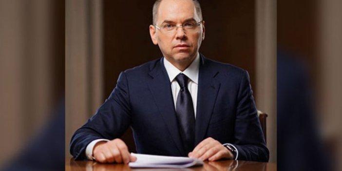 Ukrayna Sağlık Bakanı koronaya yakalandı