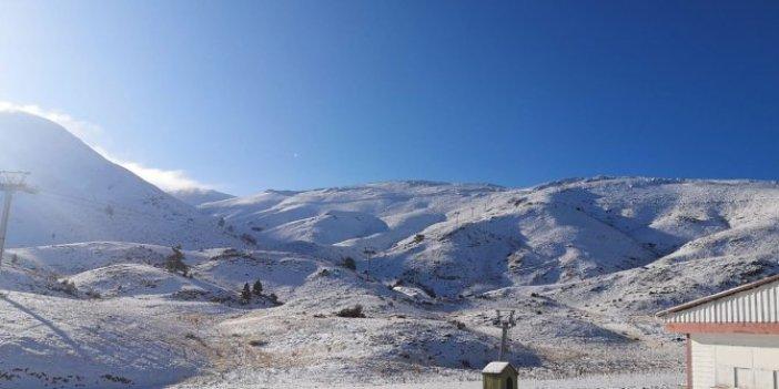 Denizli'de ilk kar düştü