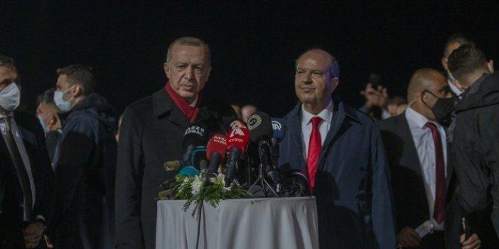 Erdoğan tarihi Kapalı Maraş ziyaretinde konuştu: Buranın gerçek sahipleri bellidir