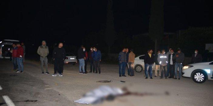 Adana'da kamyonun çarptığı engelli vatandaş hayatını kaybetti