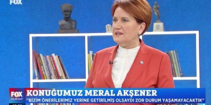 İYİ Parti lideri Meral Akşener canlı yayında açıkladı. Kanal İstanbul'a karşı çıktığı için İmamoğlu'na soruşturma başlatıldı
