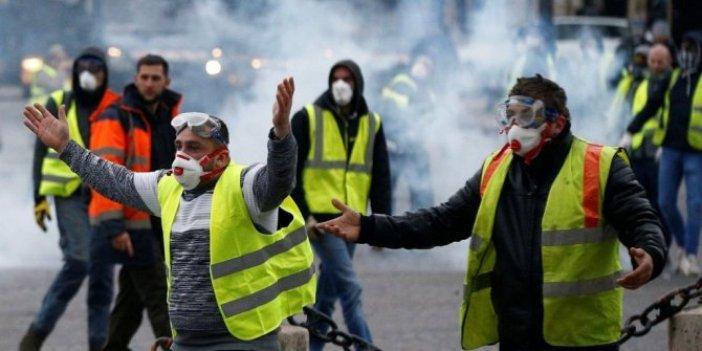 Fransa'da sarı yelekli alarmı