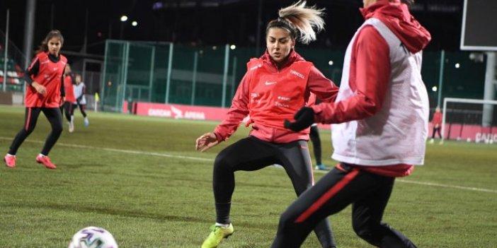 A Milli Kadın Futbol Takımı'nda Sevgi Çınar şoku