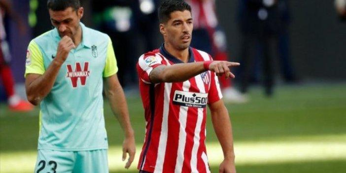 Atletico Madrid'in Uruguaylı forveti Luis Suarez korona virüse yakalandı