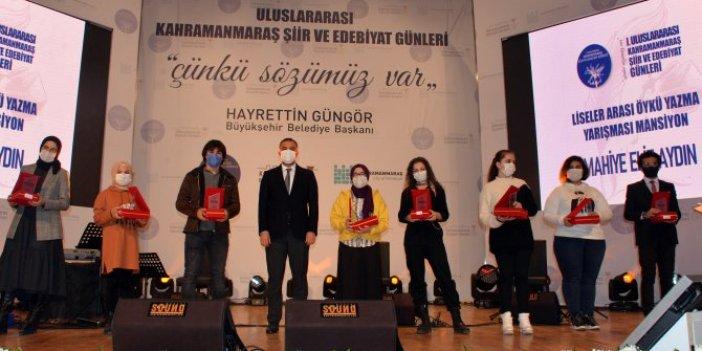1'inci Uluslararası Edebiyat ve Şiir Günleri'nin açılışı yapıldı