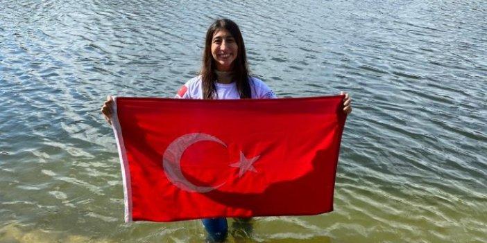 Fatma Uruk'tan Meksika'da serbest dalışta dünya rekoru