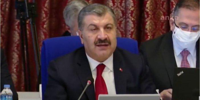 Fahrettin Koca: Biz bütçe ayıramıyoruz. Hani birçok gelişmiş ülkeden daha iyiydik