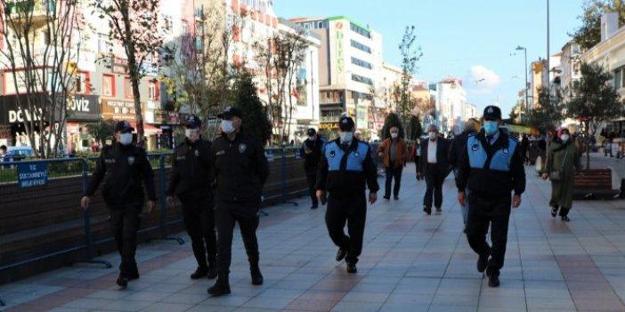 Drone'lardan kaçamadılar. Görüntüler İstanbul'dan