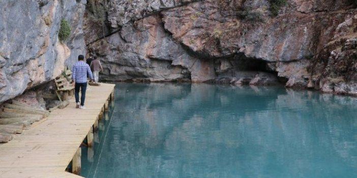 Terk edilmiş kanyon turizme kazandırılıyor