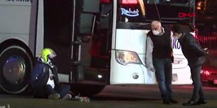 Otobüste canlı bomba alarmı. İstanbul'da nefesler tutuldu