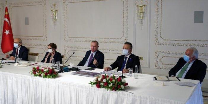 Cumhurbaşkanı Erdoğan ihracatçılarla buluştu