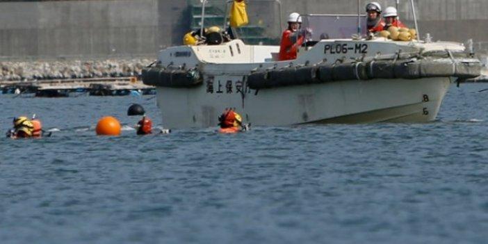 Japonya'da batan tekneden öğrenciler kurtarıldı