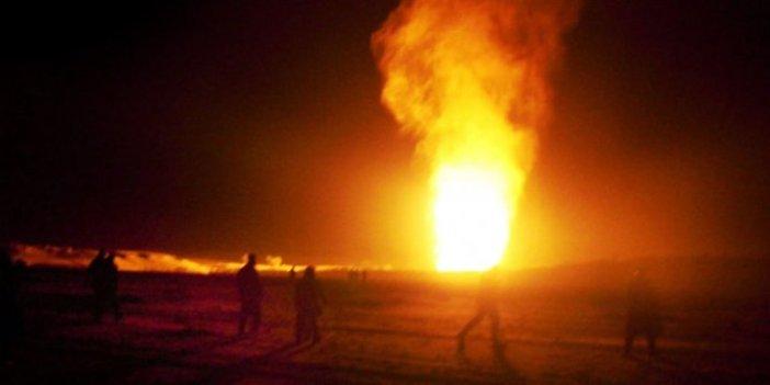 Mısır'da doğalgaz boru hattı infilak etti