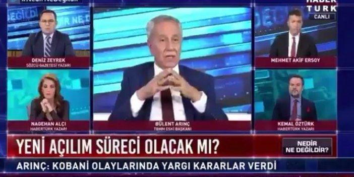 Bülent Arınç canlı yayında Selahattin Demirtaş ve Osman Kavala'nın tahliyesini istedi