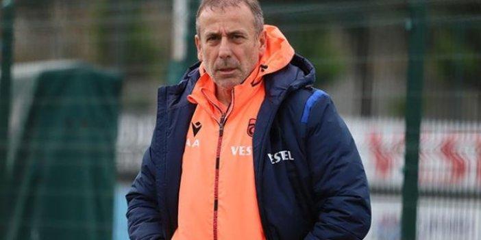 Trabzonspor'a imza atan Abdullah Avcı'nın ilk icraatı belli oldu