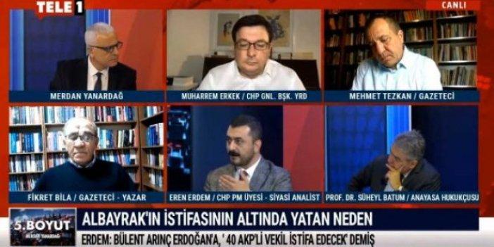 CHP'li Eren Erdem Berat Albayrak'ın istifasının arka planındaki gerçeği açıkladı
