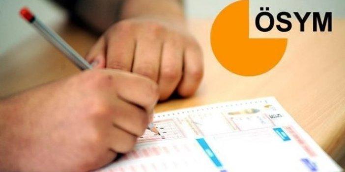 ÖSYM'den KPSS ortaöğretime ilişkin açıklama