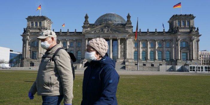 Almanya'da korona virüsün hızı tedbirler de kesmedi