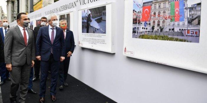 Karabağ Azerbaycan'dır Zafer Sergisi açıldı