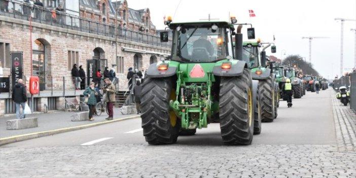 Danimarka'da hükümet karşıtı protesto