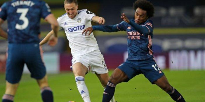 Arsenal kötü gidişe bir türlü dur diyemiyor: Leeds United'ı da yenemediler: 0-0