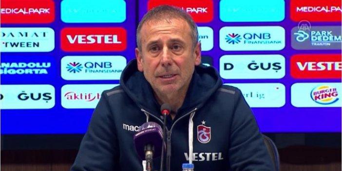 Trabzonspor Teknik Direktörü Abdullah Avcı: Geçiş dönemi için iyi bir galibiyet