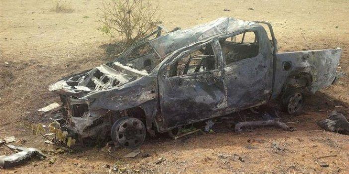Terör örgütü valinin konvoyuna saldırı düzenledi. 9 kişi öldü