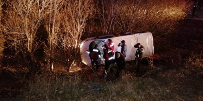 Ağrı'da 17 kişinin yaralandığı kazada 7 göçmen kaçtı