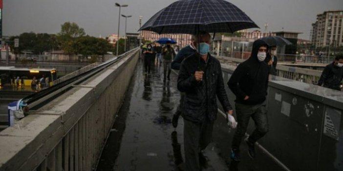 Meteoroloji İstanbul için saat verdi. Sağanak geliyor
