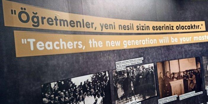 Galata Kulesi'nde öğretmenlere özel sergi