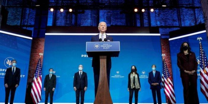 ABD'nin yeni başkanı Biden kabinesini açıkladı. A takımı