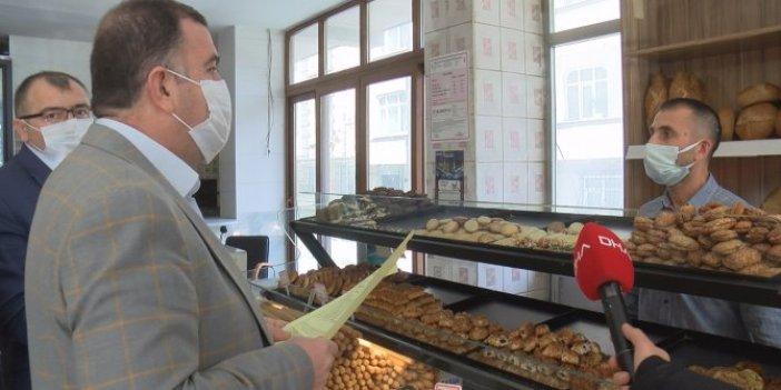 Ekmeği zamlı satanlar denetime takıldı