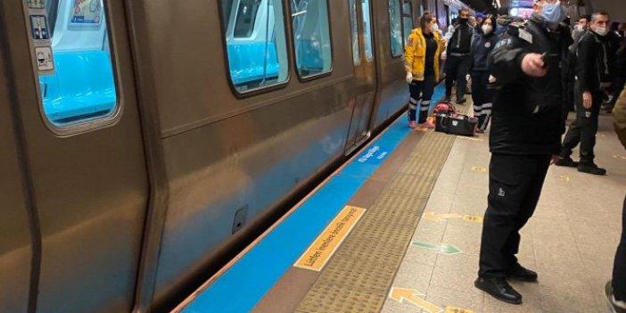 Taksim Metrosu'nda intihar eden kişi feci şekilde can verdi