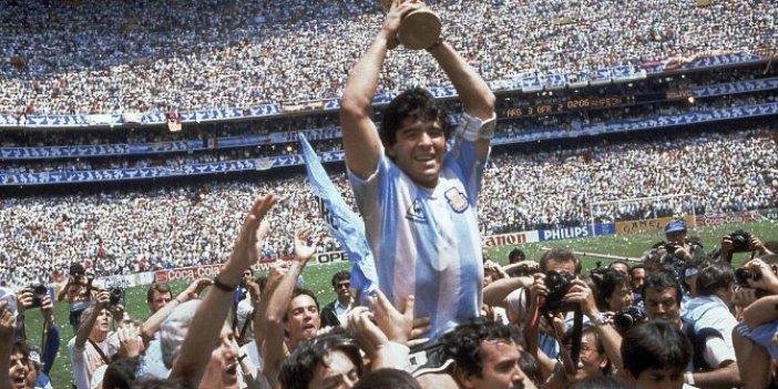 UEFA açıkladı. Maradona için saygı duruşu yapılacak