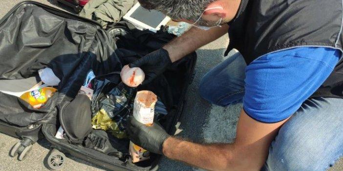 Mersin'de valizden çıkanlar şok etti. 7 parçaya bölünmüş halde bulundu