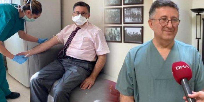 Korona aşı gönüllüsü profesör tartışmalara son noktayı koydu: Aşı istemeyenler kaderlerine razı olur