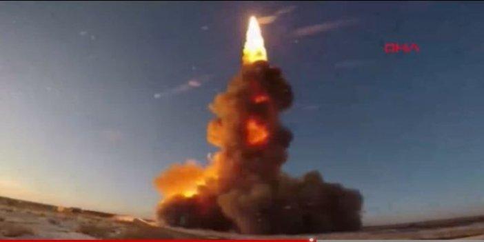 Rusya yeni füze savunma sistemi füzesini test etti