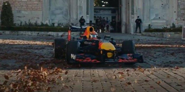 Formula 1'in tanıtımında dünya İstanbul'u böyle gördü